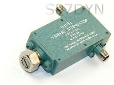 24GHz Variable Attenuator 20dB 26.5GHz 5W Dummy Load 4798 NARDA