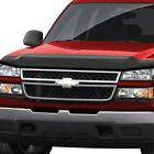 For Chevy Silverado 1500 99-02 Gts Bug-gard Carbon Fiber Look Hood Deflector