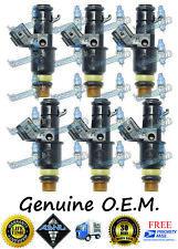 Reman OEM Acura Honda W 6x Fuel Injectors 3.0L 3.2L 3.5L