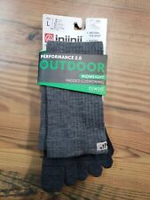 Injinji Outdoor Midweight Crew NuWool Sock - Men's Large