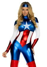 Sexy Adult Women Halloween Superman Costume Cosplay Clubwear Party Fancy Dress