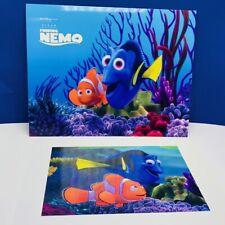 Walt Disney Store lithograph poster print litho 14X11 Finding Nemo Dory Marlin