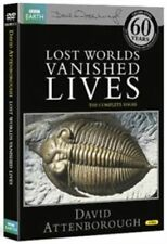 LOST WORLDS VANISHED LIVES - David Attenborough DVD NEW SEALED