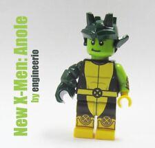 LEGO Custom --- New X-Men Anole --- Marvel Super heroes minifigures