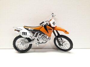 1/18 scale Maisto KTM 520 SX dirt Motorcycle model bike Motocross Diecasts Toy