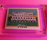 1978 TOPPS Baseball #192 PADRES TEAM CARD NmMt (High Grade!) Fingers Winfield