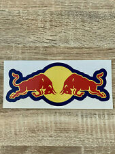 redbull sticker 20cm - 7,87in - logo taureau decals autocollant  vinyls mx bike