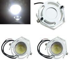 2x Latest 12V Car Boat Truck Motor 1000LM 10W LED Fog Spot Work Light Lamp Bulb
