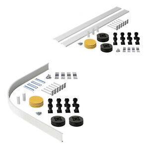 Easy Plumb Shower Tray Riser Kit Shower Enclosure Plinth Adjustable Feet Legs