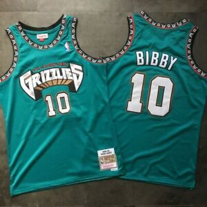 Mike bibby grizzlies jersey 10 Rookie 1998-1999 < FAST SHIPPING >