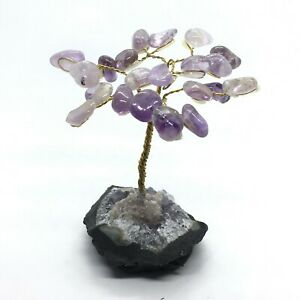 Amethyst Gem Tree- Small