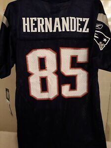 *New* Rare Aaron Hernandez NFL Youth Rookie Jersey #85