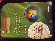Brand new!! Microsoft Windows Vista Home Premium with SP1 Upgrade