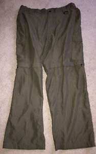 BSA Boy Scouts Official Uniform Mens Switchback Dark Green Pants Relaxed Large