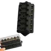 Sicherungskasten 6-fach Sicherungshalter Flachsicherungen 6-24 Volt KFZ Boot AT