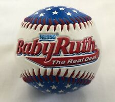 NESTLE BABY RUTH Limited Embossed Baseball White Blue Red Embroidered Stitching