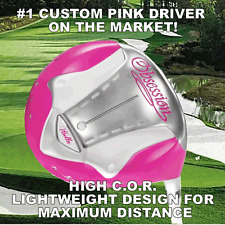 #1 PINK CUSTOM DRIVER PETITE WOMENS LADIES DRIVER GOLF CLUB GIFT HUGE DISTANCE