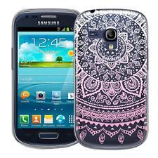 Protective Case Samsung Galaxy S3 Mini Silicone Case Phone Case Mandala Cover