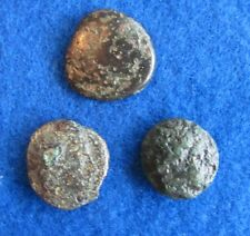 Lot. of (3 )Bronze coins of the Macedonian Kingdom 4-2 cent. B.C.