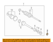 TOYOTA OEM Drive-Front Suspension-Axle Assembly Snap Ring 9052178002