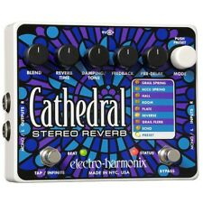 Electro Harmonix Cathedral Deluxe Reverb Effects Pedal for Guitar