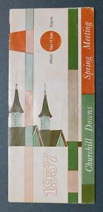 1957 KENTUCKY OAKS Program - 83rd Running - LORI-EL - CHURCHILL DOWNS