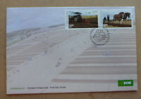 2017 IRELAND NATIONAL PLOUGHING C/SHIPS 2 STAMPS STAMP ISSUE FDC FIRST DAY COVER
