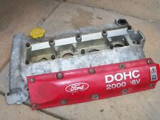 FORD ESCORT MK5 MK6 RS2000 2.0 EFI ROCKER COVER WITH COIL PACK COVER