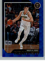 2018-19 Panini NBA Hoops Blue Checkerboard Parallel Cards Pick From List 1-150