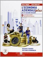 L'ECONOMIA AZIENDALE PLUS D, GHIGINI, SCUOLA E AZIENDA, COD 9788824740975