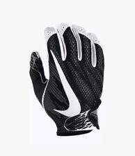 Nike Vapor Knit Football Gloves Black/White Adult Size XL GF0571 010 New