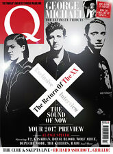 Q Magazine March 2017 The xx George Michael U2 Kasabian Haim Killers PAUL Weller