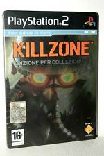 KILLZONE COLLECTOR'S EDITION STEEL BOOK USATO PS2 VERSIONE ITALIANA FR1 50097
