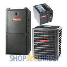 3 Ton 16 SEER AC / 80K Btu 96% Gas Furnace GSX160361 GMVC960804CN CAPF4961C6 TXV