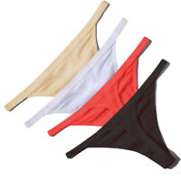 Women Cotton G-String Thongs Panties Sexy T-back Underwear Solid Bikini Lingerie
