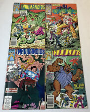 1987 toy line comics THE INHUMANOIDS  #1 2 3 4 ~ FULL SET