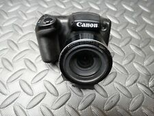 Canon PowerShot SX410 IS 20.0MP Digital Camera - Black *PARTS OR REPAIR*