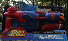 Super Soaker Helix Spiderman 3 Max Infusion Water Blaster NEW