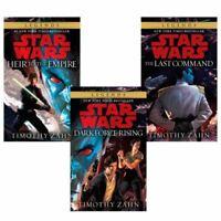 Star Wars: Thrawn Trilogy, Books 1-3 by Timothy Zahn -Mass Market