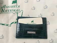 2017 Masters Geen Alligator  Card Sleeve Augusta National Berckmans Place