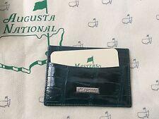 New 2108 Masters Green Alligator Card Sleeve Augusta National Berckmans Place