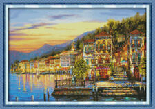 Joy Sunday Counted Cross Stitch Kit 14 Count Midnight 29in * 21in Embroidery Kit