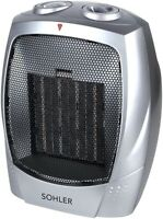 1500W Space Heater Portable Ceramic 3 Modes Adjustable Fast Heating Thermostat