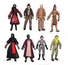 """Lot of 3 Random Indiana Jones Ucha Cairo Swordman Monkey Man 3.75"""" Action Figure"""