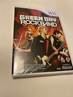🤩nintendo wii neuf blister officiel pal fr rockband green day édition collect