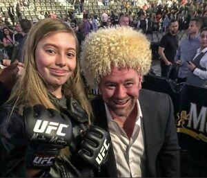 KHABIB Nurmagomedov UFC Papakha papaha  sheepskin fur Dagestan Russia winter hat