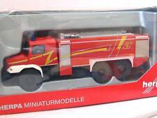 Herpa 1/87 049986 MB Zetros Ziegler Feuerwehr OVP (LN839)