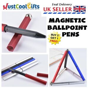 Magnetic Stress Fidget Ball Point Pens ADHD Anxiety Office School Writing