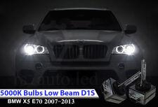 2x D1S Xenon White 5000K Bulbs Replacement Headlights Low Beam BMW X5 E70 07-13