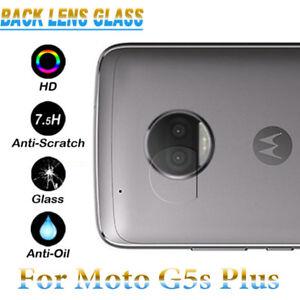 7.5H Back Camera Lens Tempered Glass Protector Case For Motorola Moto G5s Plus +